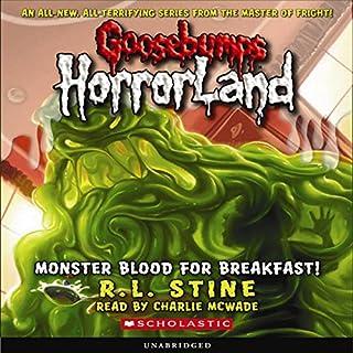 Goosebumps HorrorLand #3 audiobook cover art