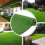GL Artificial Grass Turf Lawn - 7FTX12FT(84 Square FT) Indoor Outdoor Garden...