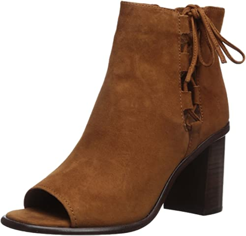 FRYE Wohommes Amy Side Ghillie démarrage, Nutmeg Suede, Suede, Suede, 10 M US d5b