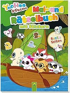 YooHoo & Friends: Mal- und Rätselbuch mit Stickern