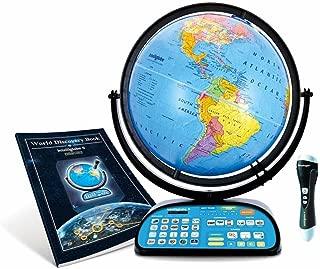 Replogle Intelliglobe,Interactive,Blue Ocean World Globe,Perfect Educational Toy4Kids 12