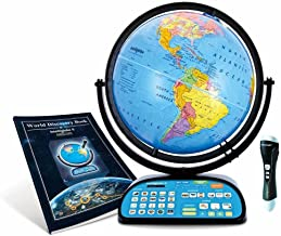 Replogle Intelliglobe,Interactive,Blue Ocean World Globe,Perfect Educational Toy4Kids 12