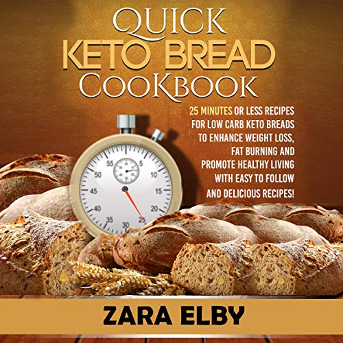 Quick Keto Bread Cookbook Titelbild
