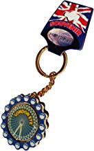 Rugged, Portable London UK London Eye Historic Ferris Wheel Spinner Keychain / Key Chain / Key Ring / Keyring Souvenir! A Durable, Classic London, England British UK Collectible Key Ring!