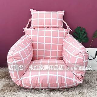 Hanging Chair Cushion, Relax Moon Chair Pad Garden Patio Rattan Swing Wicker Egg Chair Mat, Indo Outdo-u 65x60x55cm