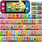 80 Pcs NFC Mini Cards for Animal Crossing New Horizons for Switch/Switch Lite/Wii (Set C #1-72 + RV#1-8)