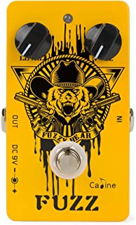 Caline CP-46 Bass Fuzz Electric Guitar Effects Pedal Acoustic Guitar Reverb Pedal Aluminum Alloy Shell Orange