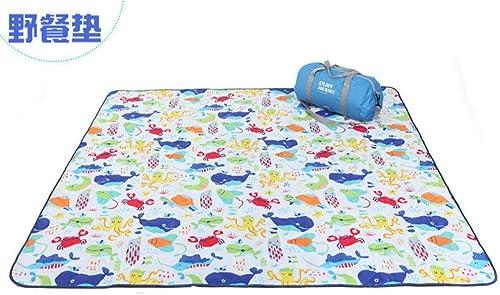 Szxin 200  200cm Couverture De Pique-Nique Grand Extérieur Portable Tapis De Pique-Nique Plage Escalade Grande Taille Adapté pour Les Activités en Plein Air