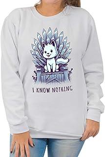 Moletom Basico I Know Nothing - Unissex
