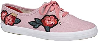 Keds Womens Champion Applique Chambray Casual Sneakers,