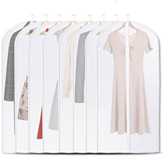 Awpeye Hanging Bag,Garment Bag for Storage 8 Pack, Garment Cover for Clothes,Clothes Cover