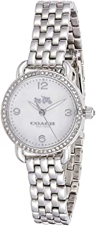 Coach Quartz Movement For Women, Stainless Steel Band 14502477
