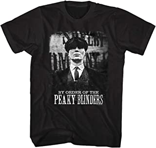 7ffdd4fc Peaky Blinders British Crime Drama TV Series By Order of Tommy Shelby T- Shirt