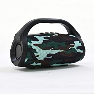 Wireless Portable Bluetooth Speaker, Small God of War Subwoofer Outdoor Portable Series Speaker,Camouflage