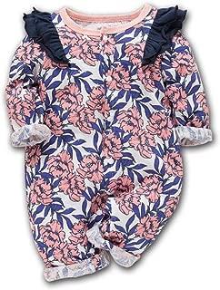 XHX Infant Fox Clip Long Sleeve Romper Onesie Bodysuit Jumpsuit