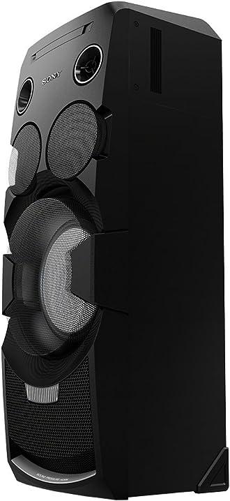 Sony mhc-v7d sistema home audio, potenza 1440w, bluetooth, nfc, usb, nero MHCV7D.CEL