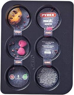 Pyrex - Magic - Moule à 6 Muffins en Métal Ø 6.50 cm