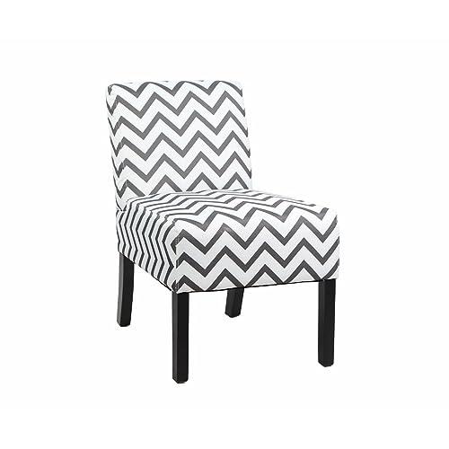 Striped Accent Chair: Amazon.com