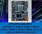 L@@K GAMEPOWER X79 Motherboard LGA 2011 ATX DDR3 Compatible with...