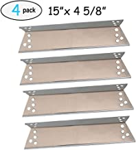4-pack Stainless Steel Heat Plates for Charbroil 463411911, 464424312, C-45G4CB, Kenmore Sears, K-Mart, Nexgrill, Tera Gear Model Grills (15
