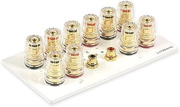 Lyndahl Paneles para Altavoces y Sistemas Sonido Envolvente Optic White 5.1