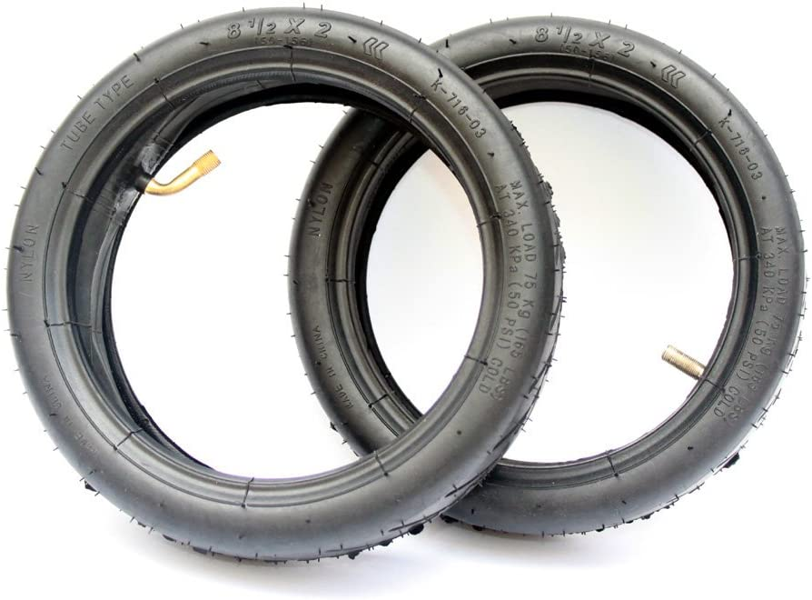 Size 8 1 2x 2 Air Tyre Electric R 割り引き M365 for Mijia Scooter 信託