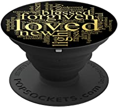 Who I am in Christ Christian Faith - PopSockets Grip and Stand for Phones and Tablets