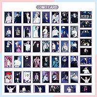 防弾少年団 BTS ポスターカード 32枚−54枚 写真のカード はがき BTS LOMO Card スターの趣味カード JUNGKOOK SUGA JIMIN JIN V J-Hope RM 写真のポスター)カード HOTO CARD SET BTS メンバー選択 (紫−54枚)