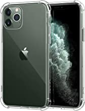 MoKo Compatible with iPhone 11 Pro Max Case, Reinforced Corner TPU Bumper + Anti-Yellow Transparent Hard Panel Cover Fit Apple iPhone 11 Pro Max 6.5 inch 2019 - CrystalClear