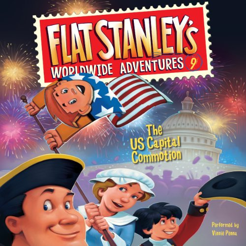 The US Capital Commotion     Flat Stanley's Worldwide Adventures #9              By:                                                                                                                                 Jeff Brown                               Narrated by:                                                                                                                                 Vinnie Penna                      Length: 41 mins     1 rating     Overall 5.0
