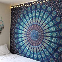 Indian Mandala Tapestry Hippie Home Decorative wall Hanging Bohemia Beach Mat Yoga Mat Bedspread Table Cloth 210x148CM