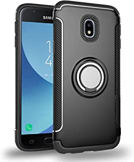 Galaxy J5 Pro Case Ring Kickstand Holder, UBERANT 360 Adjustable Ring Grip Stand & Built-in Soft TPU Shock-absorption Protection Cover Case for Samsung Galaxy J5 Pro 2017 J530 5.2
