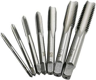 ukcoco Flauta Recta de machos 030101671cierre rápido trabajo Acero Rosca 030101671rosca Schneider M3M4M5M6M8M10M12