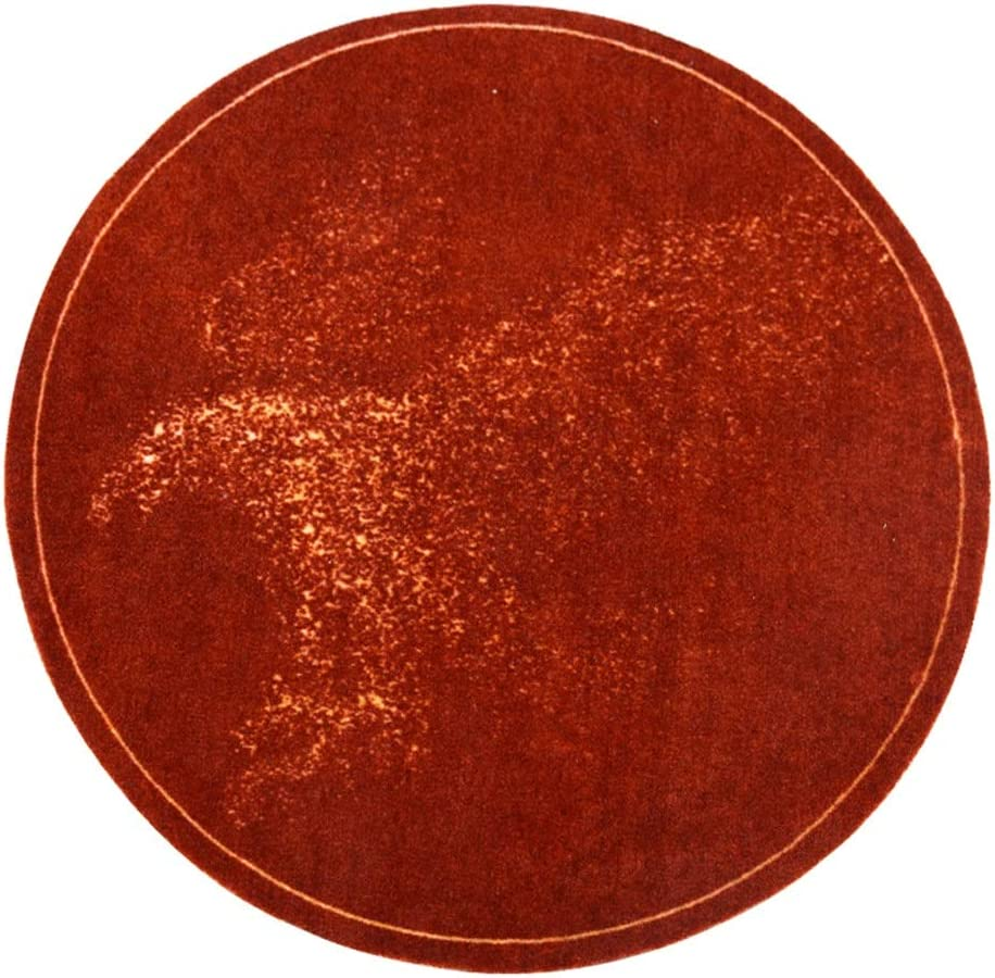 JIAYING Many popular brands Area Rugs Super Soft Max 46% OFF Non-Slip Rug Round I