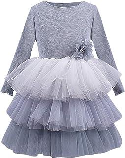 Yowablo Kleinkind Kinder Baby Mädchen Party Tüll Tutu Prinzessin Layered Kleid Outfits Kleidung