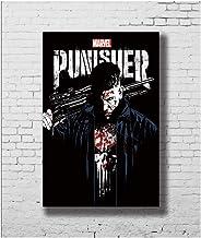 GIRDSS The Punisher Jon Bernthal Marvel TV Series Art Poster Canvas Painting Home Decor-50X70cm sin Marco