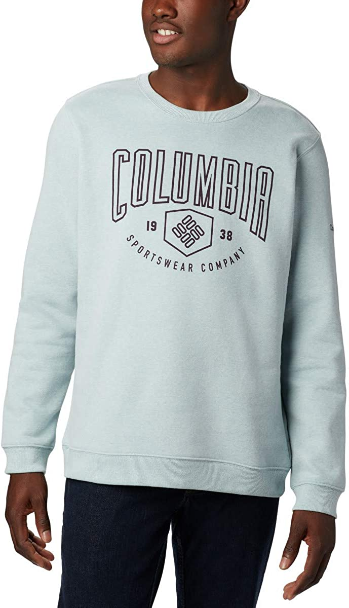 Columbia Men's Hart Mountain Graphic Crew, Soft Pullover