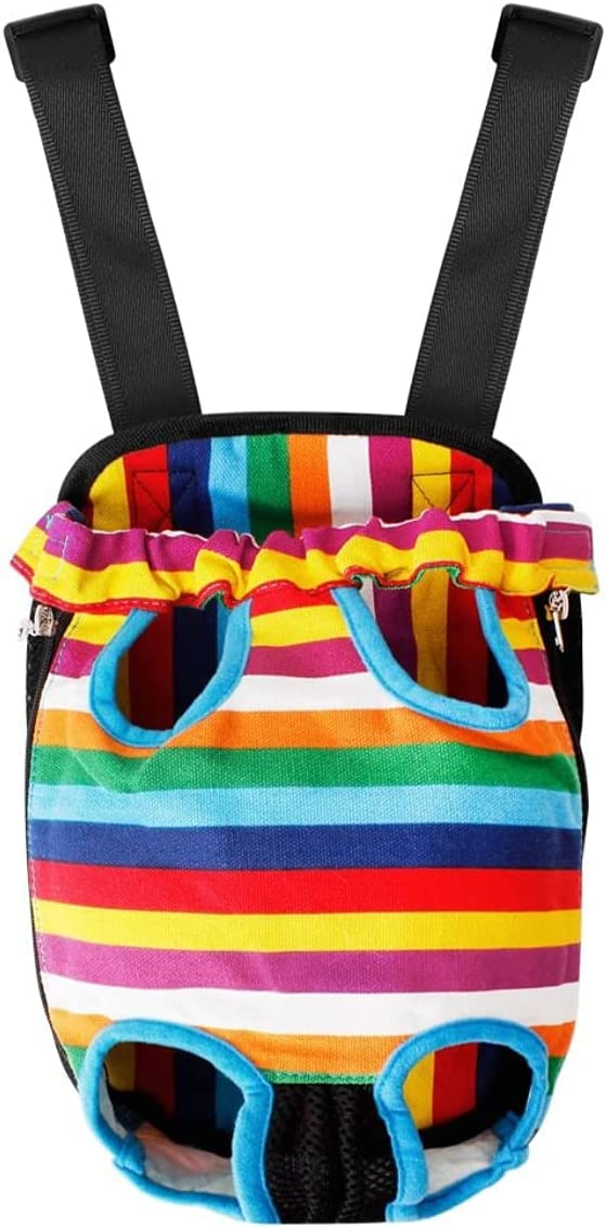 LivingABC Dog Backpack Carrier Hands Max 84% OFF Pac Free Front Max 90% OFF