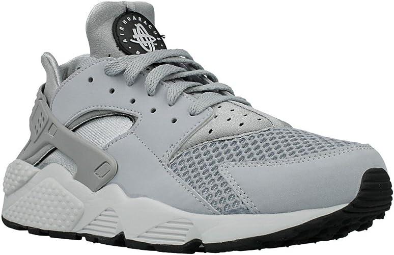 Nike Air Huarache Mens Trainers Shoes Grey/Pure Platinum: Amazon ...