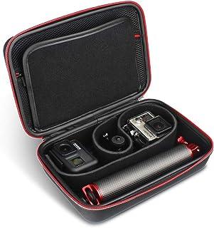 HSU - Funda Protectora para cámaras de acción Compatible con GoPro Sony dji OSMO y Accesorios