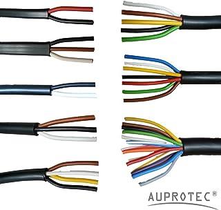 10m Auprotec/® Cavo unipolare 0.35 mm/² FLRY-B Filo elettrico ad anello marrone