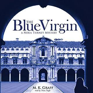 The Blue Virgin audiobook cover art