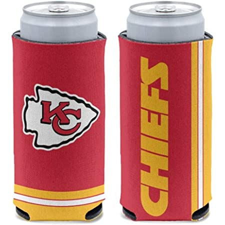 Aoxinquji America Football Team Color Logo Ultra Slim Beer 12oz Can Holder Insulated Slim Coolers 2 Pcs