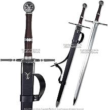 "Medieval Gears 49"" Geralt Sword Steel Blade Replica Sword w/Scabbard"