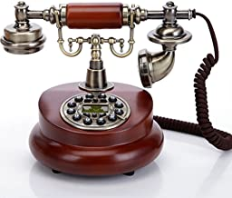 TelPal Classic Vintage Desktop Wired Office Telephone of 1950 Old Fashioned Antique Style Home Phone photo