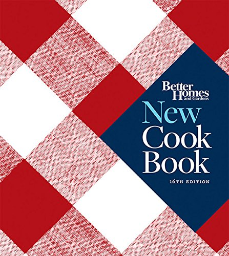 Better Homes and Gardens New Cook Book, 16th Edition (Better Homes and Gardens Plaid)