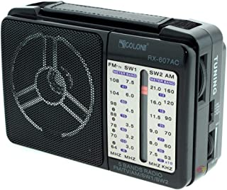 راديو RX-607AC من جولون- اسود