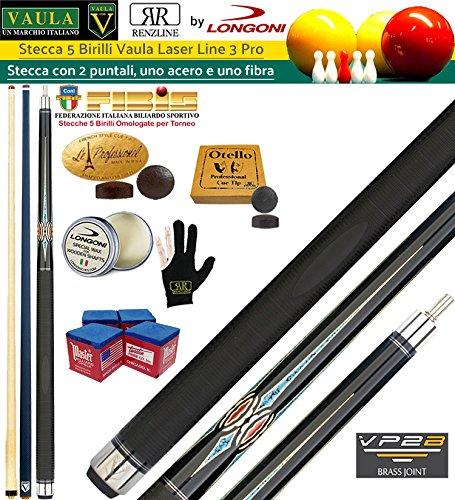 Longoni Vaula Laser 3 Pro Taco 2pz. cm. 141,5 Longoni, doble punta, una en madera