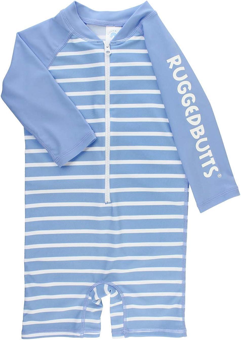 RUGGEDBUTTS Baby Credence Toddler 5 popular Boys Striped Gu One Rash Piece Swimsuit