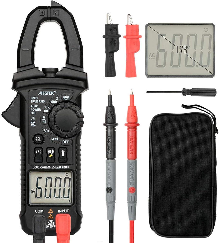 MESTEK CM81 Clamp Multimeter DiagnosticTool 6000 Counts Digital  Measurement & Analysis Instruments Digital Multimeters & Oscilloscopes 1 x MESTEK CM81 Clamp Multimeter, 1 x User Manual